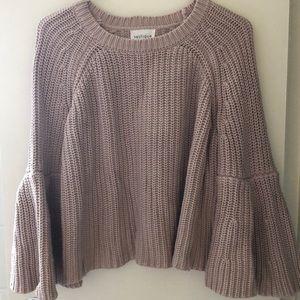 Vestique knit sweater